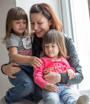 Mütter und Kinder - Foto © W. Luttenberger